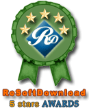 Award from RosoftDownload.com